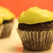 Chocolate Baby Cakes with Avocado Frosting