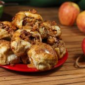 CRAZY CARAMEL APPLE PIE BOMBS