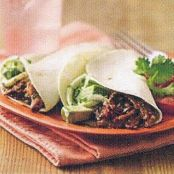Slow Cooker Fajita Pulled Pork Sandwiches with Avocado-Onion Slaw