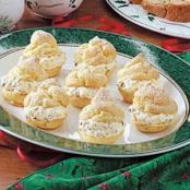 French Vanilla Cream Puffs
