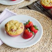 Strawberry Paleo Muffins