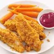 Turkey Tenders with Cranberry Ketchup