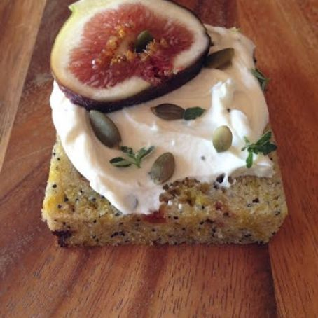 Ginger and Fig Golden Beet Loaf