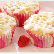 Raspberry White Chocolate Cupcakes