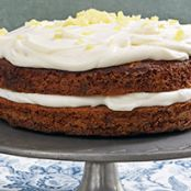 Carrot Cake with Ginger Mascarpone Frosting(Ina Garten's)