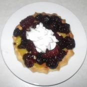 Angie's Lemon Blackberry Tart