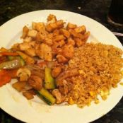 Hibachi Chicken & Fried Rice