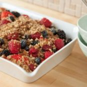RAW BERRY CRISP