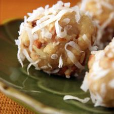 Tropical Orange and Coconut Balls