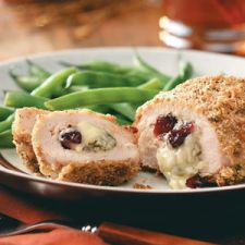 Cranberry Gorganzola Stuffed Chicken