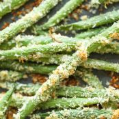 Baked Green Bean Fries - Damn Delicious