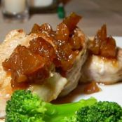 Pork Medallions with Fresh Pear Chutney