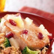 Cranberry-Pineapple Pork Chops