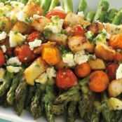Asparagus and Tomato Salad with Feta*****