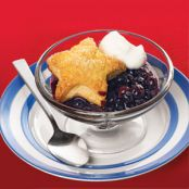 Star Struck Blueberry Cobbler