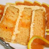 Orange Dreamsicle Layer Cake
