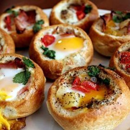 Bread Bowl Breakfast Recipe 4 5 5