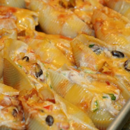 Mexican Chicken Stuffed Shells