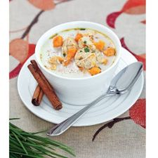 Low Carb Creamy Chicken and Sweet Potato Stew
