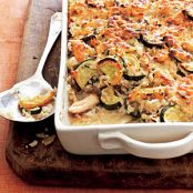 Chicken, Rice and Zucchini Casserole