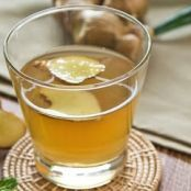 Warming Ginger-Lemon Tea
