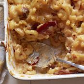 Mac and Cheese with Bacon and Chipotles