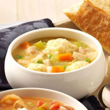 Grandma - s Chicken - n - Dumpling Soup