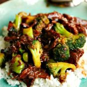 Take Out, Fake Out: Beef & Broccoli {Crockpot}