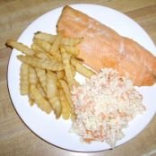 Baked Rainbow Trout Dinner *