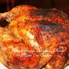 BBQ Beer Can Chicken