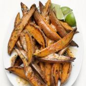 Chile-Spiced Sweet Potato Wedges