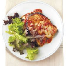 Eggplant Lasagna with Ricotta and Asiago