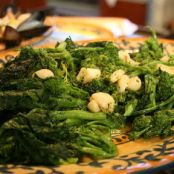 Broccoli Rabe with Garlic and Olive Oil/ Lidia Bastianich