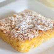 Savannah Smiles Zesty Lemon Streusel Bars