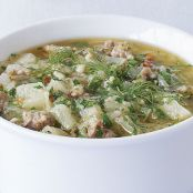 Sausage, Potato, and Fennel Chowder