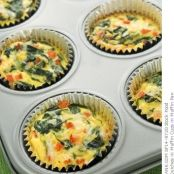 Egg and Spinach Quiche Cups