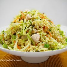 Cabbage Chicken with Ramen Noodle Salad
