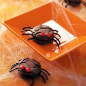 Creepy Spider Cookies