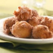 Sugary Apple Fritters