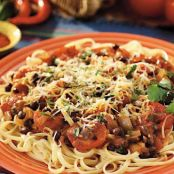Linguine with Picante Sauce