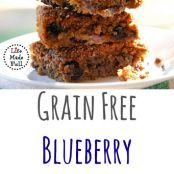 Blueberry Crumble Bars (Grain/Gluten/Dairy-Free)
