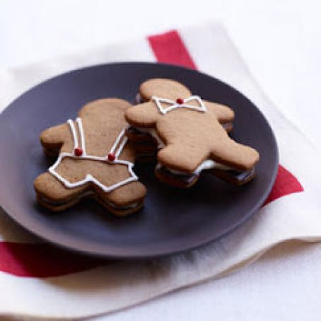 Gingerbread Shaped Smores