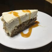 Banana Bread Bottom Cheese Cake