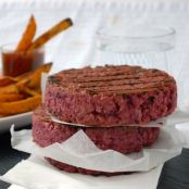 burger - Black bean beet burgers