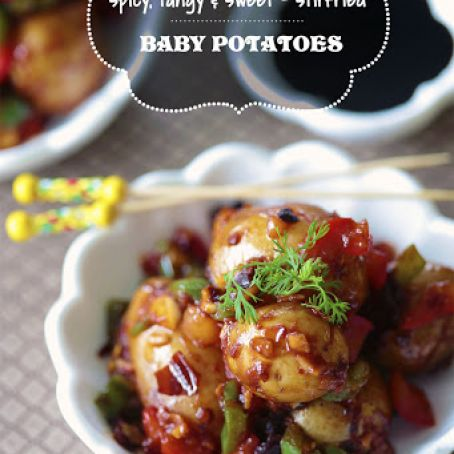 Baby Potatoes make great Appetizers
