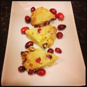Cranberry Scones w/Orange Zest