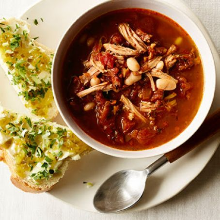 Pulled Pork Soup