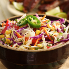 Spicy Chili Lime Coleslaw