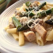 Chicken and Asparagus w/Penne Pasta