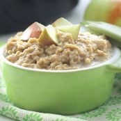 Apple Cobbler Steel Cut Oats